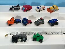 Vintage 80s Lot of 10 G1+ Mini Transformers Robots Vehicles Figures TAKARA Japan