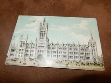 Early postcard -Marischal college University - Aberdeen Scotland