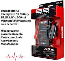 BS battery caricabatteria mantenitore BS15 12V 1500mA DUCATI 1299 PANIGALE