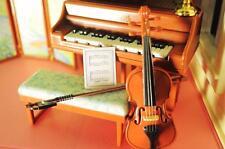 Barbie Violin w/Music Sheet Musical Instrument Lot Little Kelly Doll Dollhouse