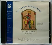Las Cantigas de Santa Maria (CD, May-1994, Lyrichord) (cd3957)