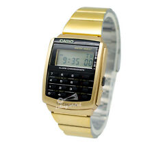-Casio CA506G-9A Calculator Watch Brand New & 100% Authentic