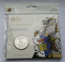 2019 Royal Mint The Queen's Beast of Yale Of Beaufort Clarence £5 BU Coin Pack