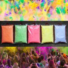 HOLI POWDER Festival To Celebrate Rangoli Color Run Sand 5 COLORS 5 X 100g gram