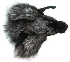 Fuchskopffell vom Blaufuchs zum basteln oder für Dekozwecke, Bastelfell