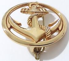 insigne de berét MARINE NATIONALE Armée Française TDM Troupes de Marine