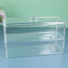 Makeup Organizer Box Klar Transparent Acryl Kosmetik Aufbewahrung für Pinsel