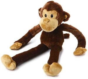 """MULTIPET - Swingin Safari Monkey Large Plush Dog Toy - 22"""" (56 cm)"""