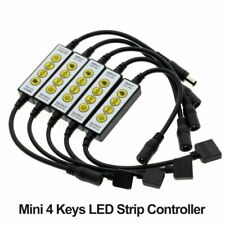 LED Strip 4Key Controller for Single Color / Double White / RGB / RGBW / RGB+CCT