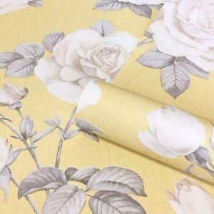 Rosa Blumen Tapete 9765 Belgravia Dekor Gelb/Creme