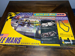 Scalextric USA LeMans T2 Advanced Sport Track System unused never ran