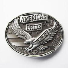 Original American Pride Eagle Western Cowboy Metal Belt Buckle