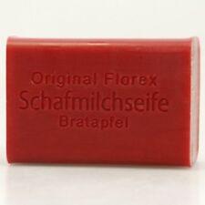 Florex Schafmilchseife eckig BRATAPFEL