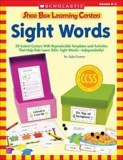 Shoe Box Learning Centers - Sight Words : 30 Instant Centers with...