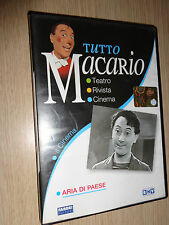 DVD TUTTO MACARIO ARIA DI PAESE IL CINEMA