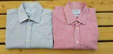 Charles Tyrwhitt 16.5 inch collar slim fit long sleeved shirts - 2 shirt bundle