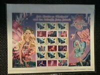 Stamps Barbie Mariposa P Sheet Muh New