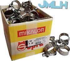 Full Box / Wholesale Trade Discounts | Mikalor Supra T-Bolt Hose Clips Clamps W2