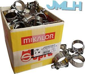 Full Box / Wholesale Trade Discounts   Mikalor Supra T-Bolt Hose Clips Clamps W2