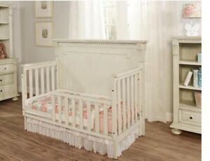 Oxford Baby Mid-Century Claremont Toddler Guard Rail - Antique White