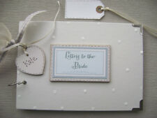 PERSONALISED.  LETTERS TO THE BRIDE  A5  SIZE PHOTO ALBUM/SCRAPBOOK/MEMORY BOOK.