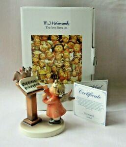 """GOEBEL HUMMEL FIGURINE """"BIRD DUET"""" #169 - COA, PAPERWORK, BOX - NEW"""