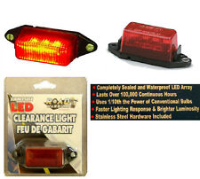 Red Submersible Clearance Light,Boat/Cargo Trailer 6 LED Light Bulb Lamp,New