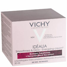 Vichy Idealia Smootness & Glow Energising Cream Dry Skin 50ml GENUINE & NEW