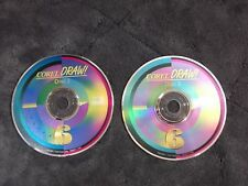 2 COMPUTER SOFTWARE CORELDRAW 6 COREL DRAW DISC 2 AND 3
