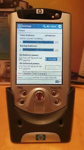 HP iPAQ Pocket PC h5550 - 128MB Handheld Computer + NAVMAN GPS 3450 Attachment