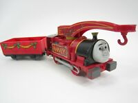 Harvey with Tender Thomas the Train Trackmaster - Battery Included - Runs Smooth