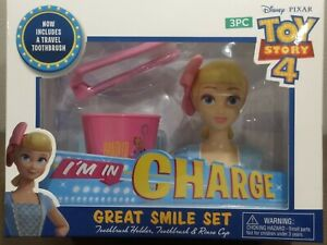 Disney Toy Story 4 Bo Peep 3-piece Great Smile Set (Toothbrush, Holder, & Cup)