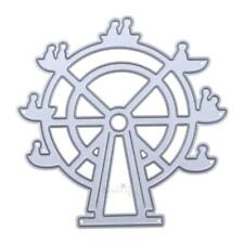 Ferris Wheel DIY Metal Embroidery Craft Stencil Cutting Die S1#