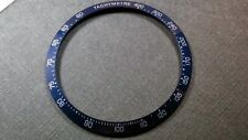 Blue Bezel Insert to Fit Tag Heuer Carrera 41mm diameter