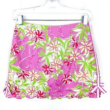 lilly pulitzer Girl Multicolored Bow Skort Size 16