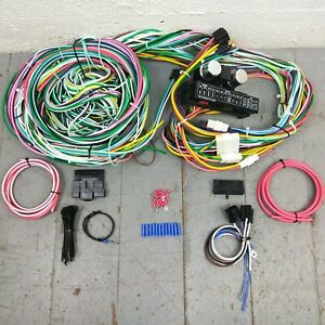 1954-1966 Buick Olds Compact Wiring Harness Upgrade Kit 15 Fuse 24 Circuit OHV