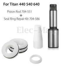 Piston Rod 704-551 With Seal Ring Repair Kit 704-586 For Titan 440 540 640