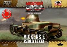 First to Fight Models 1/72 VICKERS 6 TON Mk.E TANK SINGLE TURRET Polish Campaign