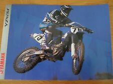Yamaha YZ426F Motorcycle Sales Brochure 2000