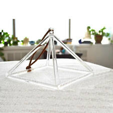 "10"" Quartz Crystal Singing Pyramid high vibrational healing tool for therapists"
