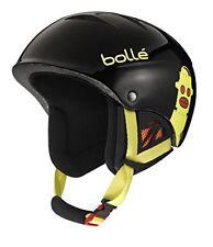 Bolle B-Kid Ski Helmet, Shiny Black Robots, 53-57cm Super Winter Sale