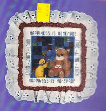 """Cross Stitch Kit - Amish Quilt - Trim 'n Wire 4"""" Square - Designs for the Needle"""