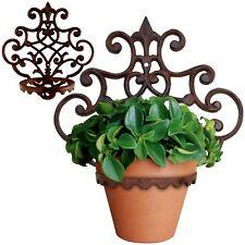 Blumentopfhalter Gusseisen Wandhänger Blumenwandhalter Topfhänger Garten Neu
