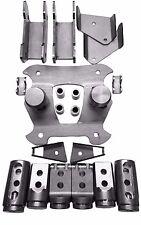 "Polaris RZR XP1000 / XP1K 4 seat Cage Connectors / Adapters / Bungs kit 1 3/4"""