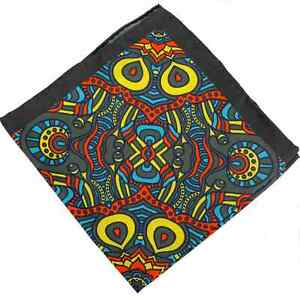 Men's 100% Silk Pocket Square - The Brentwood