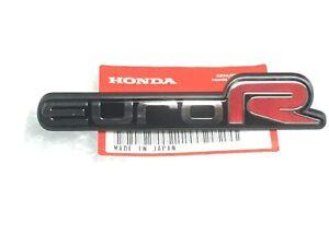 Genuine OEM Honda Accord EURO-R FRONT badge