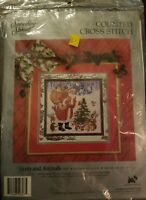 CANDAMAR - SOMETHING SPECIAL - SANTA AND ANIMALS COUNTED CROSS STITCH KIT 50607