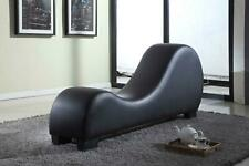 Leather Yoga Chair Couch Loveseat Furniture Sofa Chaise Lounge Contemporary New