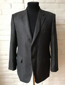 EMPORIO ARMANI Men's Suit 2 Button Size 54 Made In Italy!