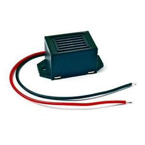Panel mounting transistor oscillator buzzer 1.5V, 3V, 6V, 9V and 12V 100mm leads